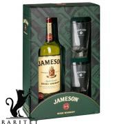 Виски  Jameson  0,7л. 40% в коробке с 2-ма бокалами