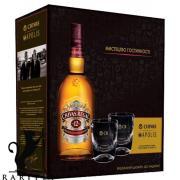 Виски  Chivas Regal 12 лет 0,7л. 40%  в коробке с 2 -я бокалами