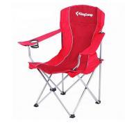 "Кресло складное KingCamp ""Arms Chairin Steel"" (KC3818) Red"