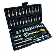 (70014) Профессиональный набор инструментов 46 ед. Сталь