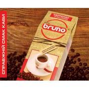 Кофе Бруно жареный в зернах 100% арабика Френч Дарк Роаст 250 гр.
