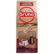 Кофе Бруно молотый Турецкая Традиция 250 гр. в коробке Домик FLAT