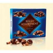 Конфеты Roshen Assortment delicate чорный шоколад 148г