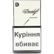 Сигареты Davidoff Reshape в пачке белого цвета*10 пачек