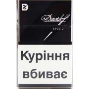 Сигареты Davidoff Studio в пачке черного цвета*10 пачек