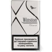 Сигареты Winston XStyle Silver*10 пачек