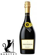 Вино игристое Инкерман полусладкое  мускатное 0,7 л.