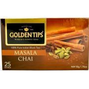 Чай черный со специями Masala Chai 25*2г  (Индия,ТМ Golden Tips)