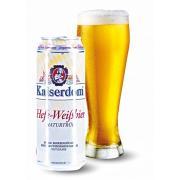 Пиво светлое пшеничное Hefe Weisbier Dosen 0,5л 4,7% ж/б (Германия,Бавария,ТМ Kaiserdom)