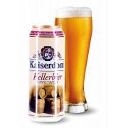 Пиво светлое нефильтрованное Kellerbier Dosen 0,5л 4,7% ж/б (Германия,Бавария,ТМ Kaiserdom)