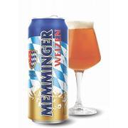 Пиво светлое Memminger Weizen 0,5л 5,1% ж/б (Германия, ТМ Memminger)