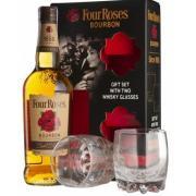 Бурбон Four Roses Single Barrel 0,7 л в под.упак + бокал (США, ТМ Four Roses)