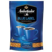 Кофе молотый Ambassador Blue Label 75г в/у (Украина, ТМ Ambassador)