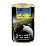 Оливки черные Carretilla б/к 300г ж/б (Испания, ТМ Carretilla)