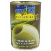 Оливки зеленые Carretilla с/к 300г ж/б (Испания, ТМ Carretilla)