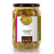 Оливки зеленые Olivellas green 370 мл б/к стекло (Греция, Халкидики, ТМ Olivellas)