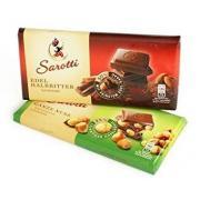 Шоколад молочный Milk hazelnut/almond с орехами 4*25г (Германия, ТМ Sarotti)