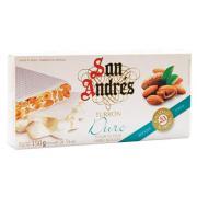 Нуга San Andres cake с тропическими фруктами и миндаль 200г (Испания, ТМ San Andres)