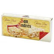 Нуга San Andres с арахисом и изюмом в шок. 100г (Испания, ТМ San Andres)