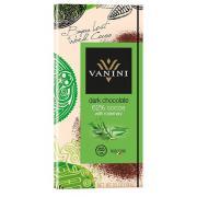 Шоколад Vanini 62% темный с розмарином 100г (Италия, ТМ Vanini)