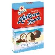 Конфеты Halloren Kugeln Kokos Schoko 125г (Германия, ТМ Halloren)