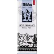 Шоколад молочный Milk Boy Swiss Alpine Milk 40г (Швейцария,ТМ Milk Boy)