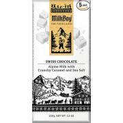 Шоколад молочный Milk Boy Swiss Caramel 40г (Швейцария,ТМMilk Boy)