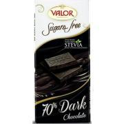 Шоколад темный Valor 70% без сахара 100г (Испания, ТМ Valor)