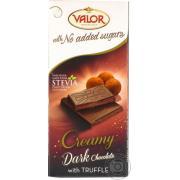 Шоколад темный Valor без сахара трюфель 100г (Испания, ТМ Valor)