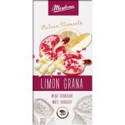 Шоколад Meybona белый Limon Grana 100г (Германия, ТМ Meybona)