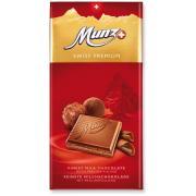 Шоколад молочный Munz Swiss Premium Praline 100г (Швейцария, ТМ Munz)