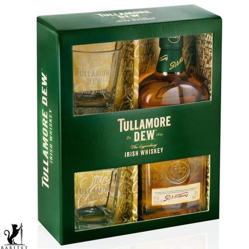 Виски Tullamore Dew Original 0,7 л. в коробке + 2 бокала