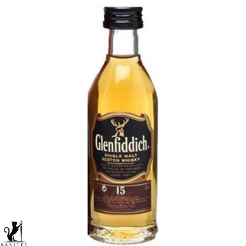 Виски Glenfiddich 15 лет 0,05 л.