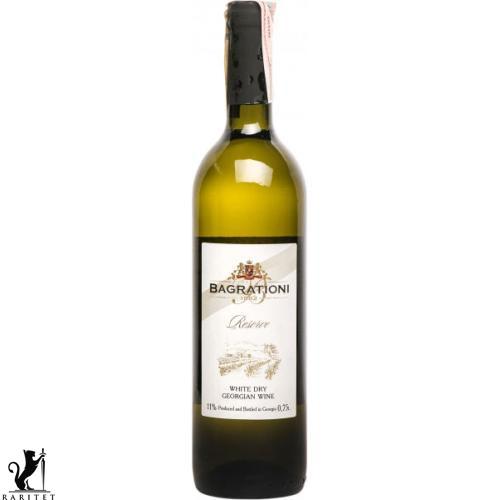 Вино Багратиони белое сухое 0,7 л.