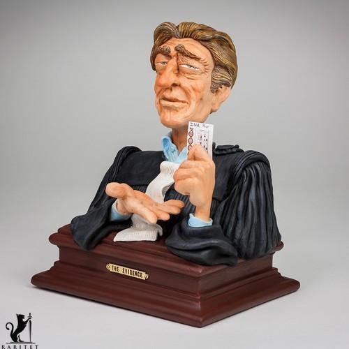 Статуэтка скульптора Guillermo Forchino Доказательство h-21