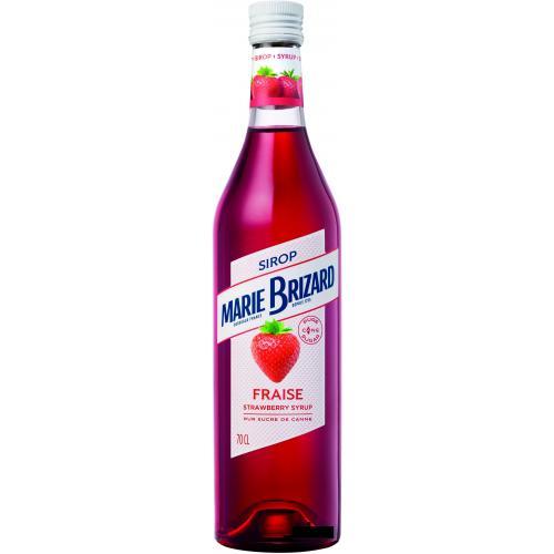 Сироп Marie Brizard De Fraise Strawberry 0,7 л