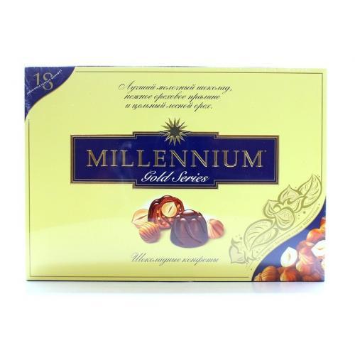 Конфеты Millennium Gold молочный шоколад Р 205г