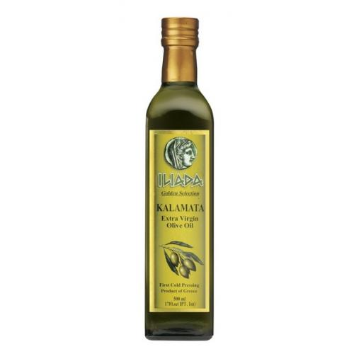 Оливковое масло ExclusiveILIADA PDO Kalamata 0,5л ж/б (Греция, Каламата,ТМ Iliada)