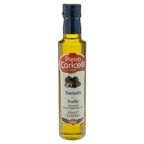 Оливковое масло Extra Virgin Flavoured Truffl с трюффелем 0,25л (Италия, ТМ Pietro Coricelli)