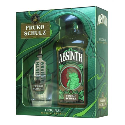 Абсент Fruko Schulz Set Green, Red, Black 3x0,04л 70% набор в кор (Чехия, ТМ Fruko Schulz)