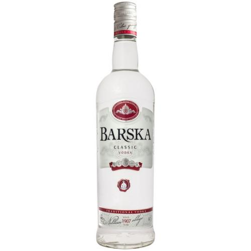 Водка Barska Classic 0,5л 40% (Литва, ТМ Barska)