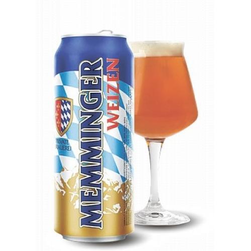 "Пиво Memminger светлое ""Memminger Weizen"" 0,5л 5,1% ж/б (Германия, ТМ ""Memminger"")"