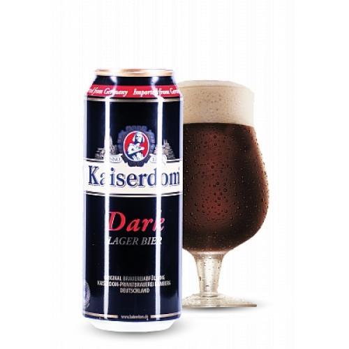 Пиво темное Dark Lager 0,25л 4,7% ж/б (Германия, Бавария, ТМ Kaiserdom)