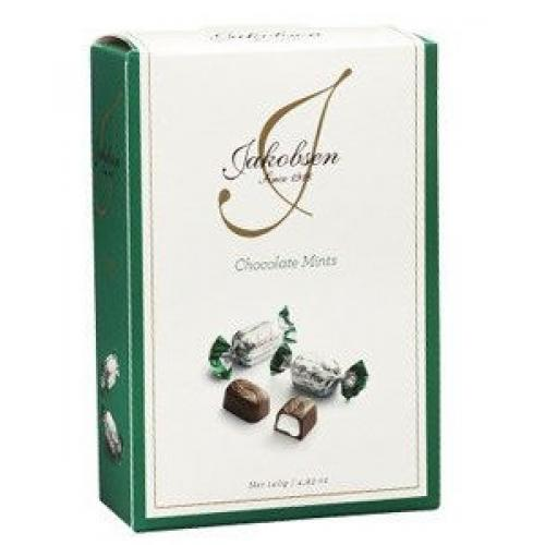 Конфеты пралине Jakobsen Chocolate mints 400г ж/б (Дания, ТМ Jakobsen)
