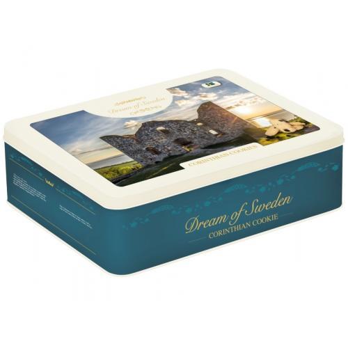 Печенье сo смородиной Dream of Sweden Corinthian Cookies Christmas 200г ж/б (Швеция, ТМ Dream of Sweden)