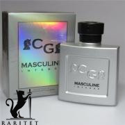 Туалетная вода CHR. GAUTIER MASCULINE INTENSE  edt (M) + виалка  Аналог Armani Homme Classic  100 мл.