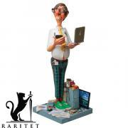 Статуэтка скульптора Guillermo Forchino Компьютерный эксперт 22 см