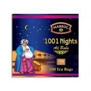 Чай смесь черный и зеленый 1001 Nights 25пак*2г (Шри Ланка, ТМ Mabroc)
