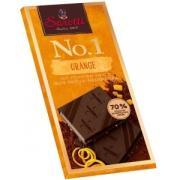 Шоколад темный Dark orange 70% с апельсином 100г (Германия, ТМ Sarotti)
