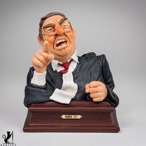 Статуэтка скульптора Guillermo Forchino Докажите это! h-21